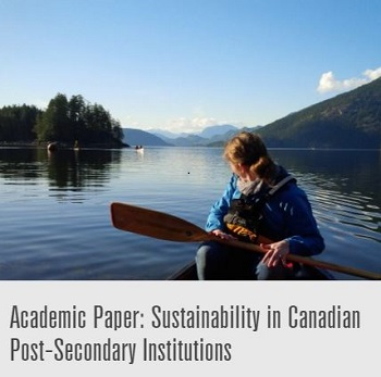 Sustainability in Cdn Academic Institutions